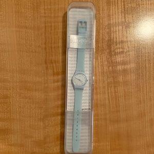SWATCH digital quartz watch silicone band